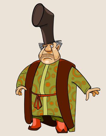cartoon fairy man merchant