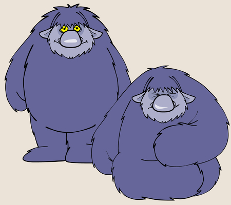 shaggy: cartoon character shaggy beast
