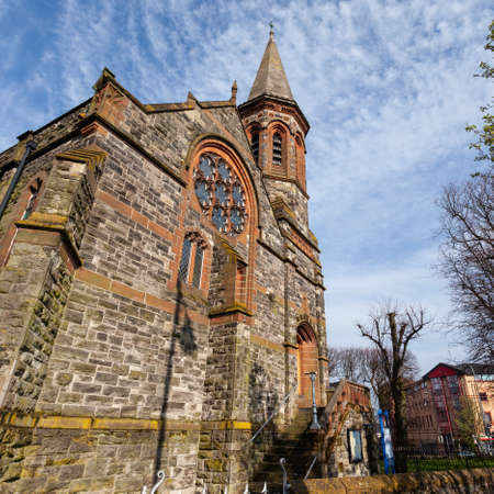 Old Church in Belfast, UK