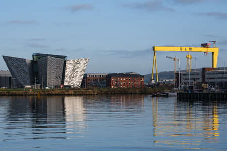 Titanic Centre, Belfast, Northern Ireland, UK Archivio Fotografico