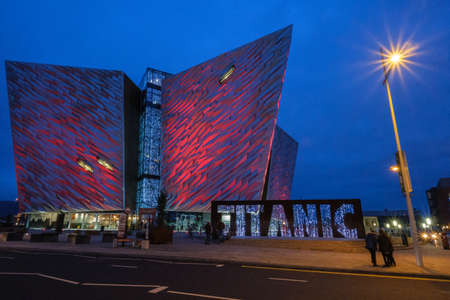 Titanic Centre, Belfast, Northern Ireland, UK