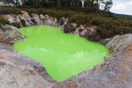 Wai-o-Tapu Thermal Park, North Island, New Zeland