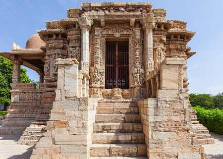 Shani Deity Altar, Chittorgarh, Rajasthan, India