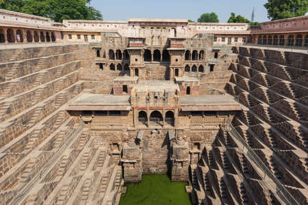 Step Well in Abhaneri, Rajasthan, India