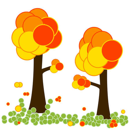 Autumn tree Stock Vector - 8142662