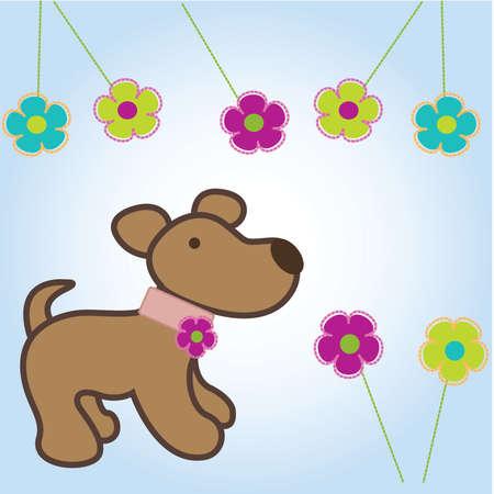 Cartoon dog Stock Vector - 8142652