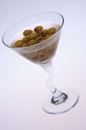 very dirty: A very dirty martini.