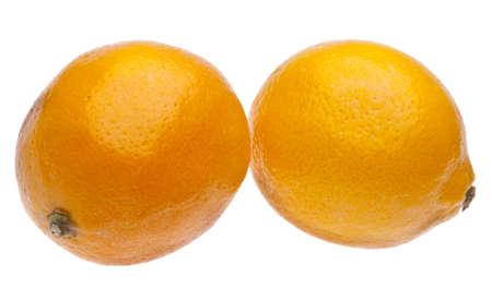 Pair of sweet meyer lemons