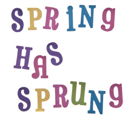 sprung: Spring has sprung