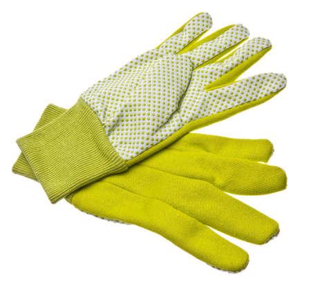 gardening gloves: Pair of Gardening Gloves  Stock Photo