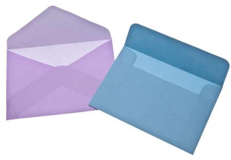 Sobres de escritura de cartas. Quizás para una boda, Baby Shower o Carta de amor.  Foto de archivo - 6881151