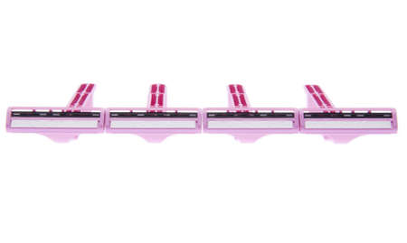 hygeine: Pink Disposable Razors