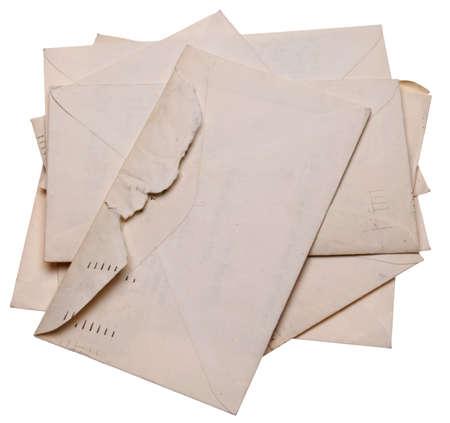 Nostalgic Letters Remind us of Yesterday. photo