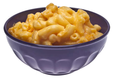 Traditional American Favorite Food Macaroni and Cheese. Stock Photo
