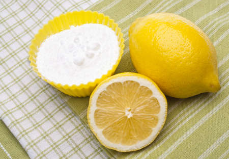 environmentally: Lemons and Baking Soda are a Natural Environmentally Friendly Way to Clean Your Home.