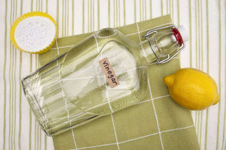 Lemons, Baking Soda and Vinegar are all Natural Environmentally Friendly Ways to Clean Your Home. photo