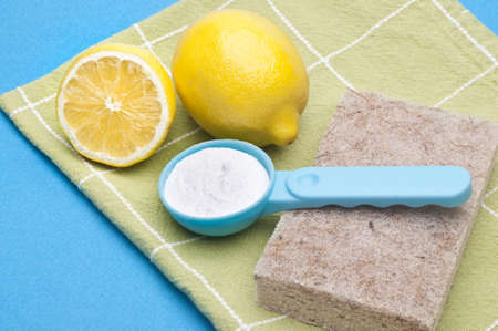 Natural Cleaning with Lemons and Baking Soda