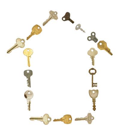rental: House Symbol in Old Keys