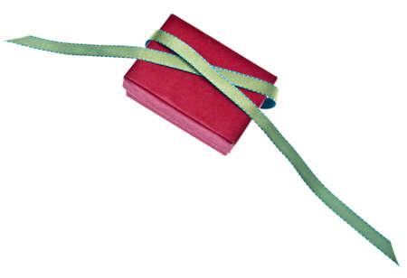 untied: Festivo Holiday Gift OCDE aislado en blanco