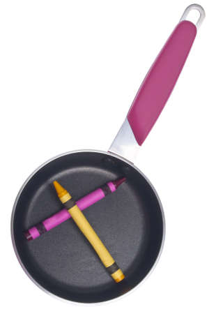 originative: Kitchen Tool with Vibrant Crayons for Creative Cooking Concepts