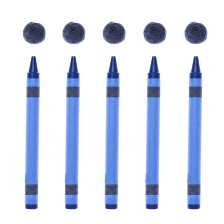 originative: Blueberries and Crayons for a Creative Food Concept