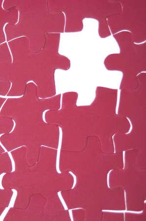 originative: Puzzle Pieces Diversity or Play Conceptual Image. Stock Photo