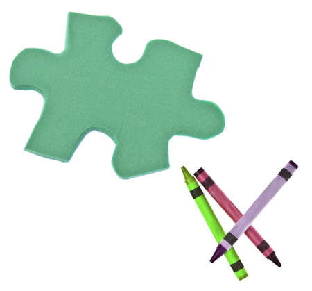 originative: Puzzle of Creativity Conceptual Image   Stock Photo