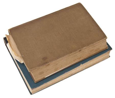 Vintage Books Isolated on White  photo