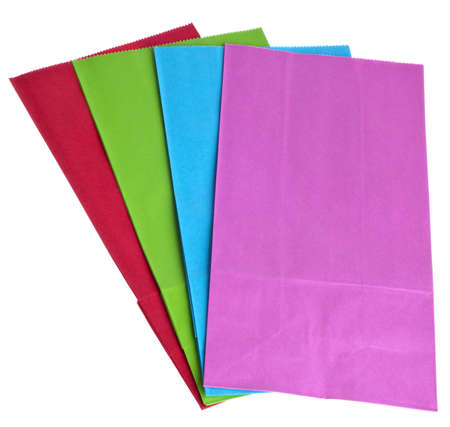 Colorful Paper Bags for Gift Giving  photo