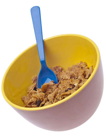 Vibrant Bowl of Breakfast Cereal Stock Photo - 7747068