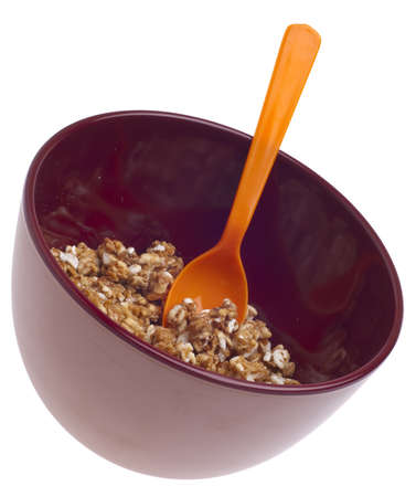 Vibrant Bowl of Breakfast Cereal Stock Photo - 7747066