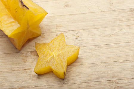 Carambola Starfruit is a Sweet Fruit From Asia.