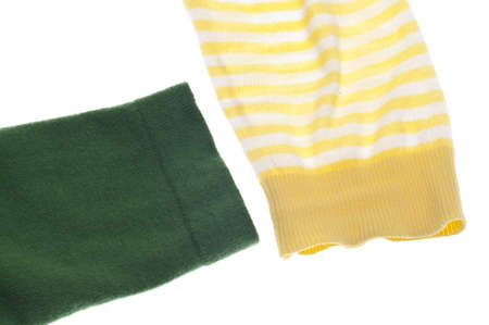 the sleeve: Sweater Sleeve Close Up Background on White.