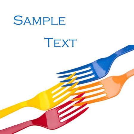 sample text: Imge de fondo de la horquilla vibrante con texto de ejemplo.