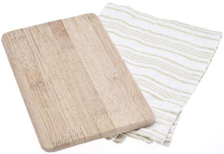 Wooden Block and Napkin Kitchen Reklamní fotografie