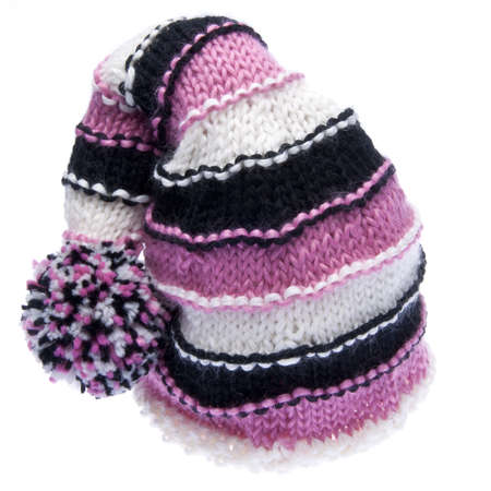 Knit Hat Isolated on White