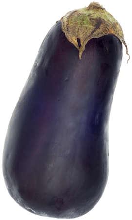 Fresh Eggplant Isolated on White Reklamní fotografie