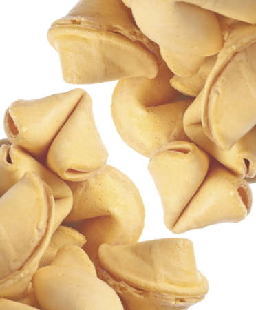 Traditional Fortune Cookies Background Image. photo
