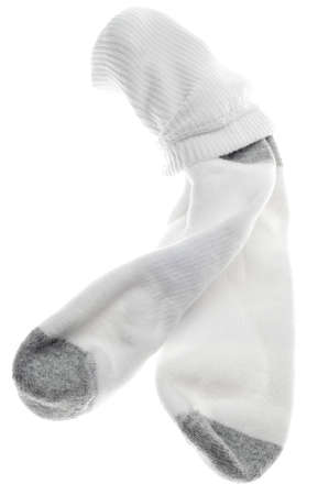 Mens Athletic Cotton Socks Isolated on White. Stock Photo - 11753138