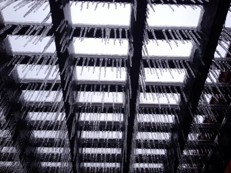 multiple: Multiple icicles
