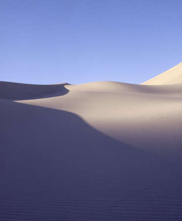 timeless: Morning light on sand dune