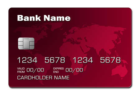 valuta: Credit Card (red)