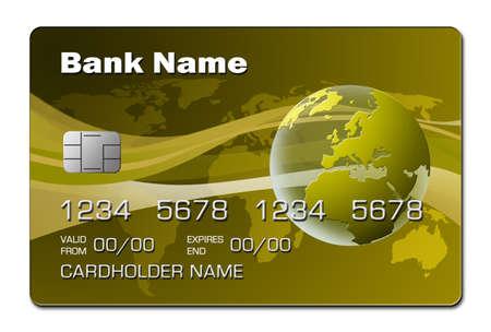 Credit Card 2 (yellow)