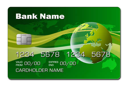 mondo: Credit Card 2 (green)