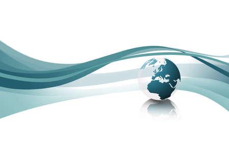 world globe texture (blue) Stock Photo - 10416213