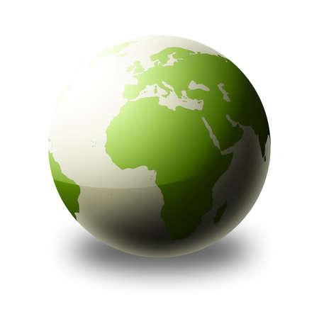 world globe (green)