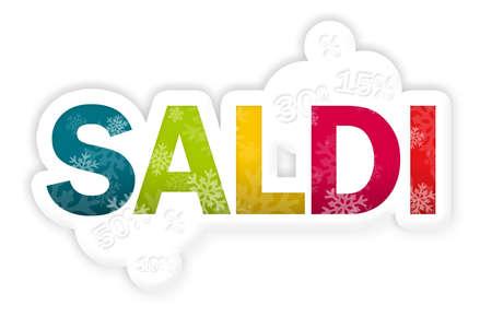 SALDI spelled in rainbow colors