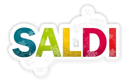 SALDI spelled in rainbow colors