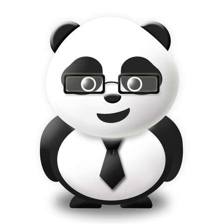 business panda  Stock Photo