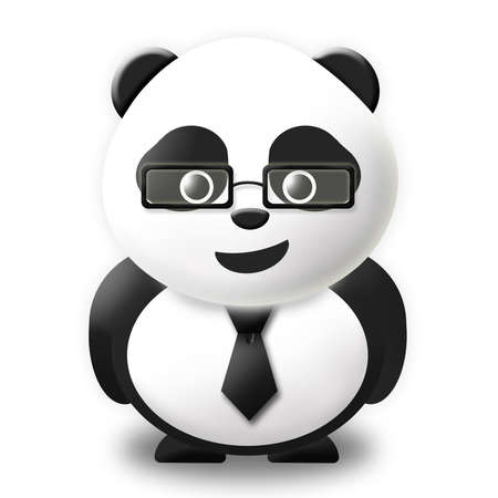 business panda  Stock Photo